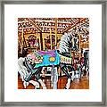 Carousel Horse 4 Framed Print