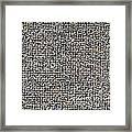 Carpet Texture Framed Print
