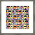 Cars Abstract  Framed Print
