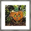 Carved Pumpkin 5 Framed Print