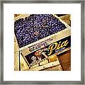 Case Of Sangiovese Grapes Framed Print