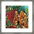 Cassia Framed Print