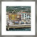 Castelleto Harbor.italy Framed Print
