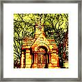 Cave Hill Haunting Framed Print