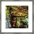 Cave Land Framed Print