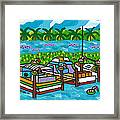 Cedar Key Bayou Framed Print