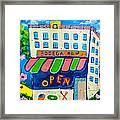 Celebration Hoboken #3 Framed Print