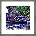 Cell Call 4 Take Out Framed Print