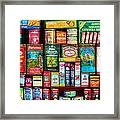 Central Grocery Essentials Framed Print by Brenda Bryant