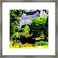 Central Park At 59th Street Framed Print