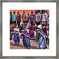 Ceremonial Dance Framed Print