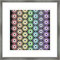Chakra Healing Grid Framed Print