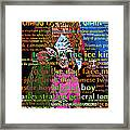 Chang The Chinese Giant - Human Carnival Sideshows And Other Oddities Of The World 20130626 Framed Print