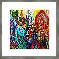Changes ... #watercolor #doodle #fun Framed Print