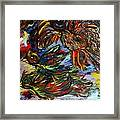Chaos In Flight Framed Print