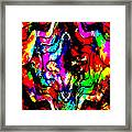 Chaos In My Mind Framed Print