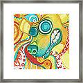 Chaotic Canine Framed Print