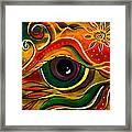 Charismatic Spirit Eye Framed Print