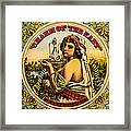 Charm Of The East Framed Print