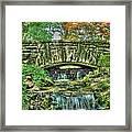 Cheekwood Bridge Framed Print