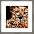 Cheetah Artwork Framed Print