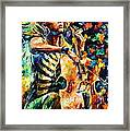 Chelo Player Framed Print
