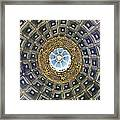 Cherubic Cupola Framed Print