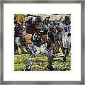 Chicago Bears Te Zach Miller Training Camp 2014 Pa 04 Framed Print