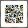 Chicago Bears Training Camp 2014 Collage Pa 01 Framed Print