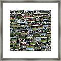Chicago Bears Training Camp 2014 Collage The Players Framed Print