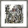 Childbirth, 1499 Framed Print