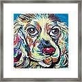 Chili Dog Framed Print