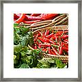 Chillies 04 Framed Print