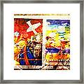 China Sandwiches Framed Print