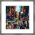 China Town Framed Print by Anthony Falbo