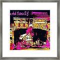 China Town Arch Victoria British Columbia Canada Framed Print