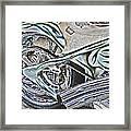 Chopper Belt Drive Detail Framed Print by Samuel Sheats