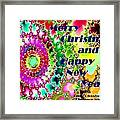 Christmas Cards And Artwork Christmas Wishes 38 Framed Print