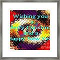 Christmas Cards And Artwork Christmas Wishes 72 Framed Print