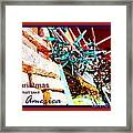 Christmas In Small Town America Framed Print