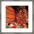 Christmas Tree Framed Print by George Rossidis