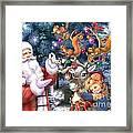 Christmas Tree-rudolph Framed Print