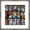 Christmas Window Framed Print