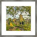 Church Of The Holy Rude Cemetery Stirling Framed Print