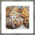 Cinnamon Muffins Framed Print