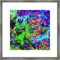 Circles Within Circles Framed Print