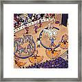 Circus Ladies Framed Print