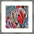 Cisco Abstract Horse  Framed Print