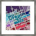City 6 Framed Print