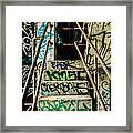City Grunge Framed Print